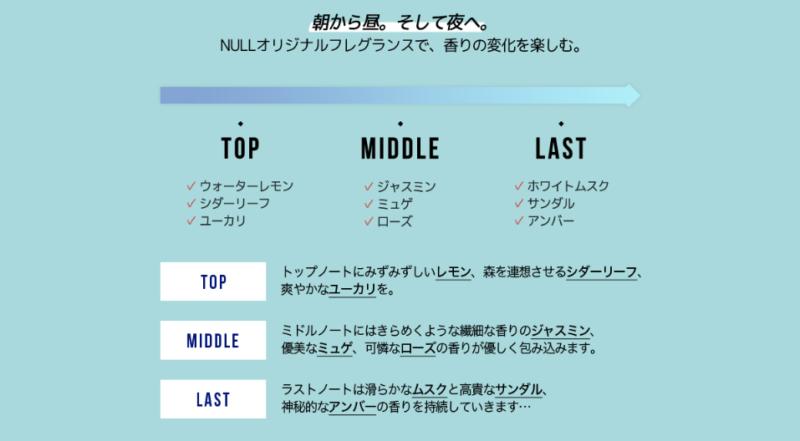NULLパフューム画像5