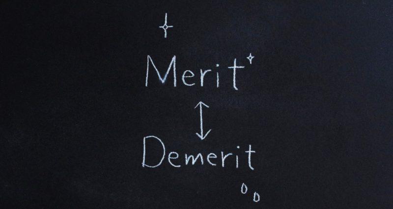 黒板に書かれた文字