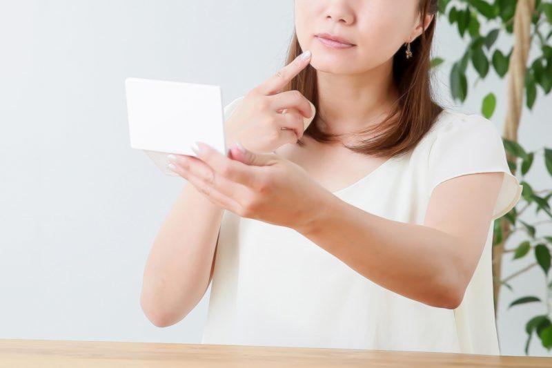 お肌がきになる日本人女性