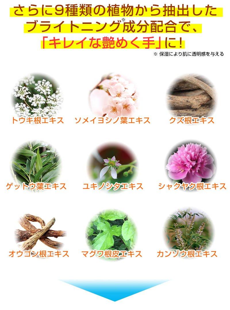9種類の植物から抽出