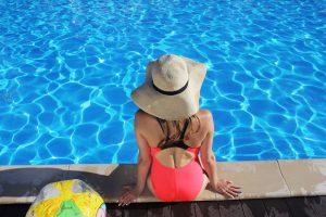 プールでの紫外線対策