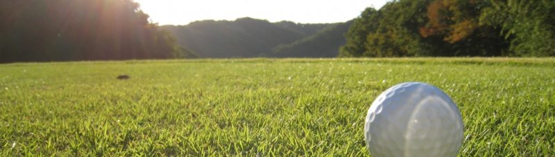 フェアウェイとゴルフボール