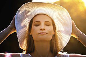 帽子の紫外線対策効果2