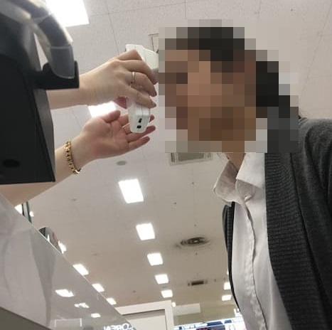 Kanebo・肌診断・様子d
