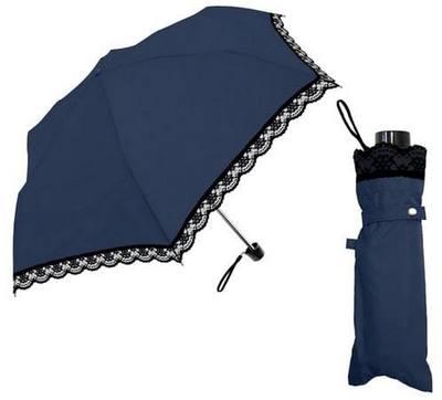 紺色の日傘