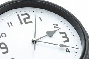 紫外線を対策するべき時間帯