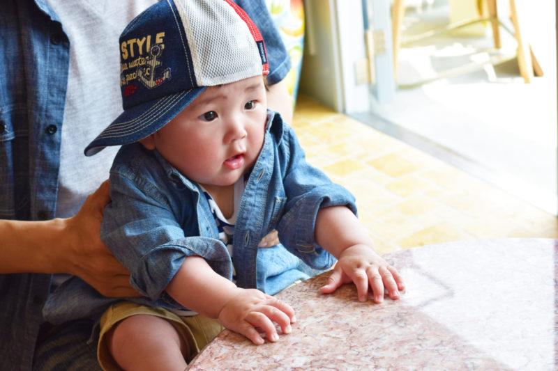 赤ちゃん用キャップ