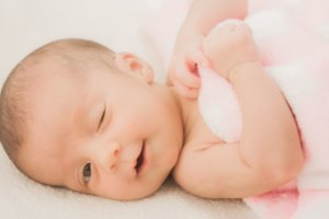 赤ちゃんを紫外線から守る