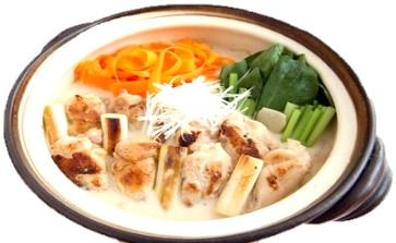手羽元の豆乳味噌美鍋