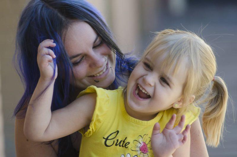 紫外線対策 母と子