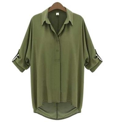 グリーンの婦人服