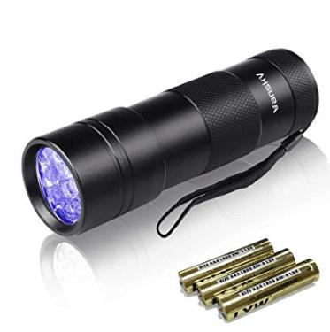 Vanskyの紫外線ブラックライトUVライトレジン用硬化ライト