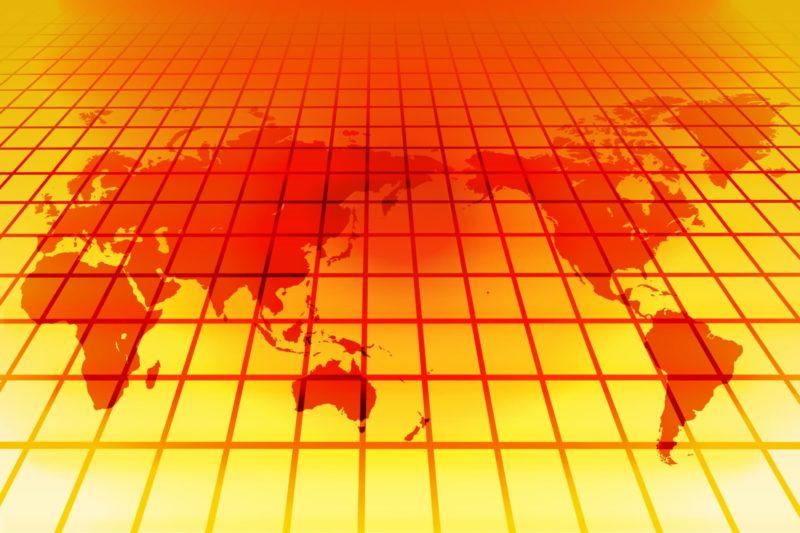 地球温暖化のイメージ画像
