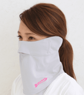 参考商品画像 紫外線対策マスク B