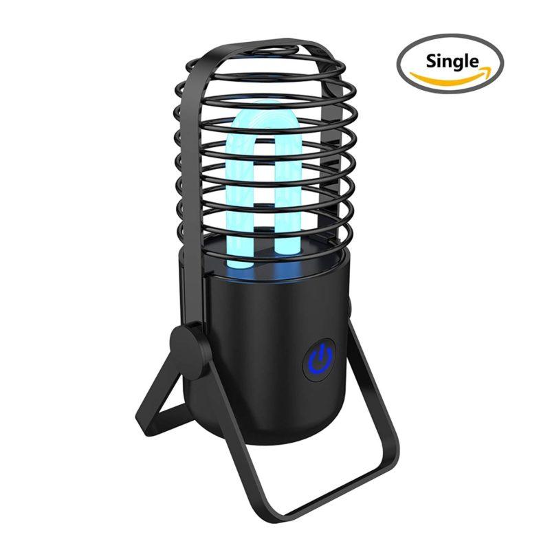 紫外線ランプ 空気清浄機 オゾン発生器 脱臭 細菌99.8%除去 車載/トイレ/オフィス用