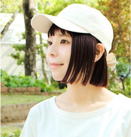 帽子専門店イチヨンプラス ・14+オリジナルデニムバックリボンCAPの商品画像