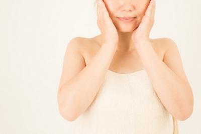 50代女性 洗顔
