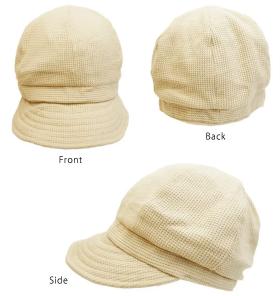 帽子屋ドリームウォーク・キャスケット ワッフル&クレープの商品画像