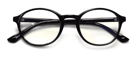 Goods-KOBE PCメガネ ボストンタイプ クリアレンズ UVカット対応の商品画像