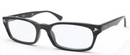 レイバン アジアンフィット セルフレーム UVカットメガネの商品画像