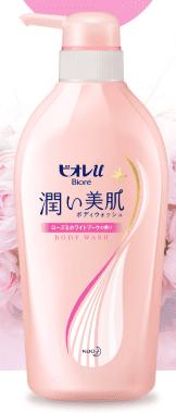 ビオレu 潤い美肌ボディウォッシュの商品画像