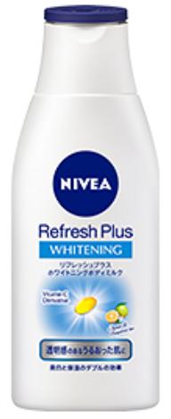ニベア リフレッシュプラス ホワイトニングボディミルクの商品画像