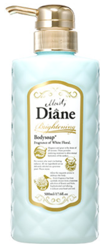 モイスト・ダイアン ボディソープ ブライトニング ホワイトフローラルの香りの商品画像