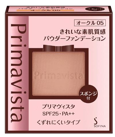 プリマヴィスタきれいな素肌質感パウダーファンデーションの商品画像