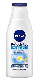 ニベア リフレッシュプラスホワイトニングボディミルク