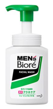 メンズビオレ・泡タイプ薬用アクネケア洗顔の商品画像