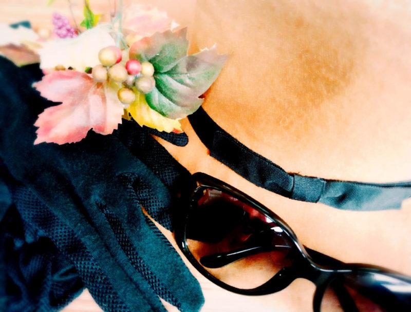 紫外線対策グッズ(帽子・サングラス・手袋)