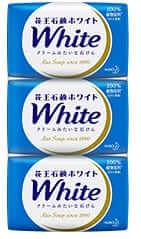 花王の石鹸ホワイト3個入り