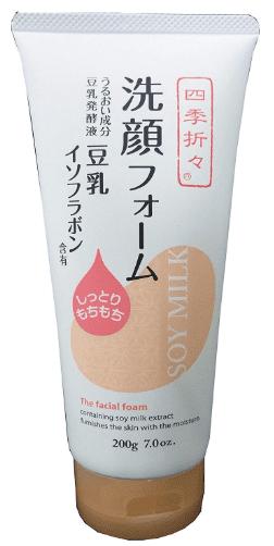 熊野油脂 四季折々 豆乳イソフラボン 洗顔フォームの商品画像