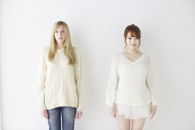外人と日本の女性