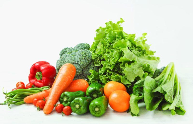 いろいろな緑黄色野菜