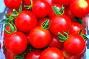たくさん入っているミニトマト