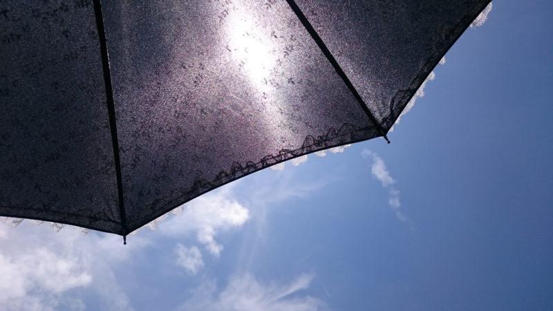 紫外線と日傘