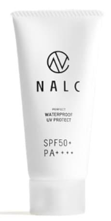 NALCのナルクパーフェクトウォータープルーフ 日焼け止めジェル