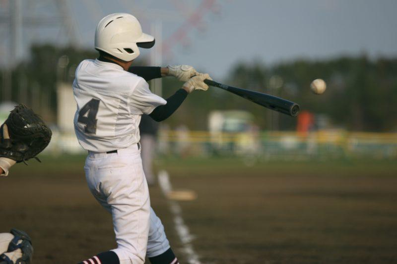 野球部の練習の風景