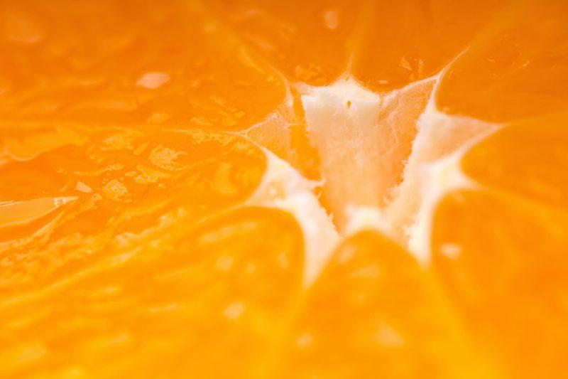 ビタミンCのオレンジのイメージ