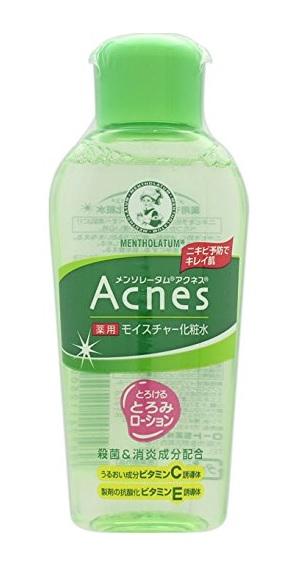 メンソレータム アクネス ニキビ予防薬用モイスチャー化粧水 商品画像