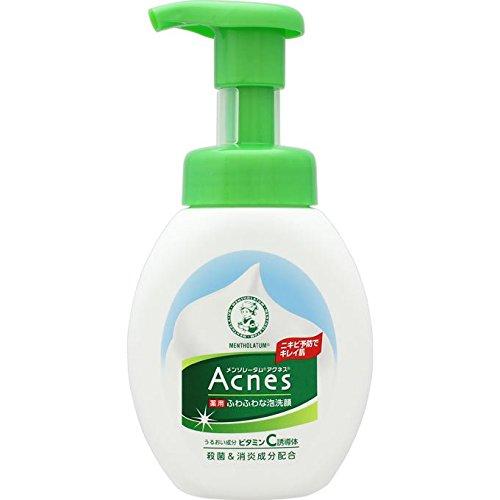 メンソレータム アクネス ニキビ予防薬用ふわふわ泡洗顔