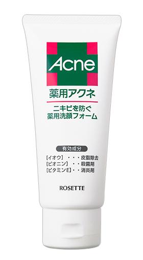 ロゼット 薬用アクネ 洗顔フォームの商品画像