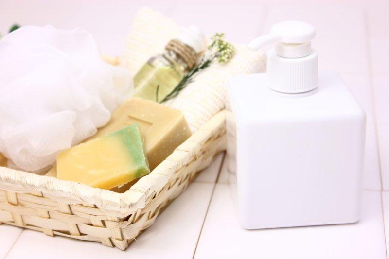 液体石鹸と固形石鹸