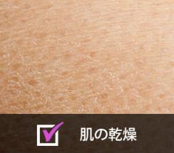 肌の乾燥画像