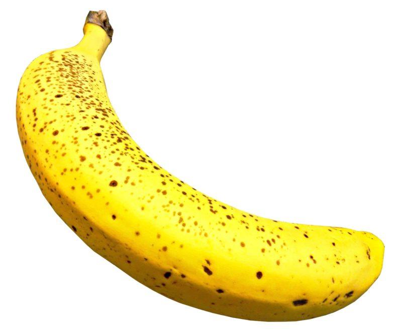 シュガースポットの多い一本バナナ
