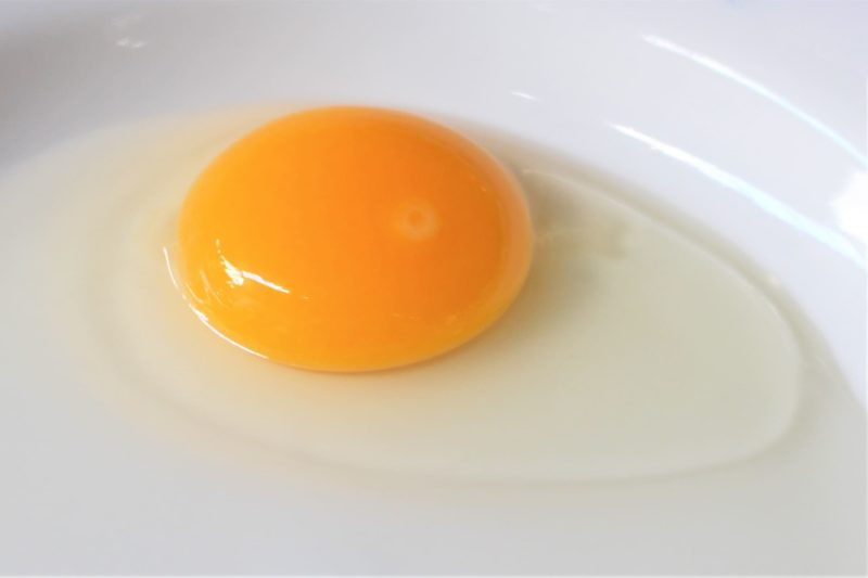 何にでも応用できる卵の黄身