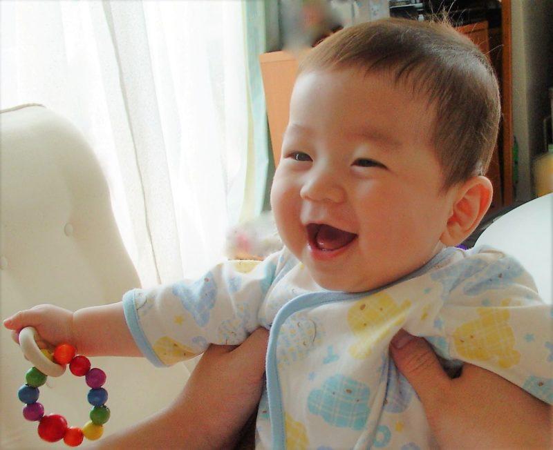 プラセンタ赤ちゃんの笑顔