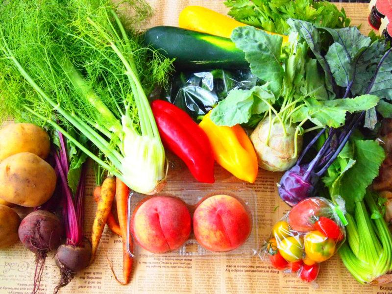 プラセンタビタミンを含んだ野菜や果物