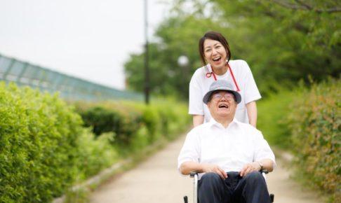 笑顔の老人